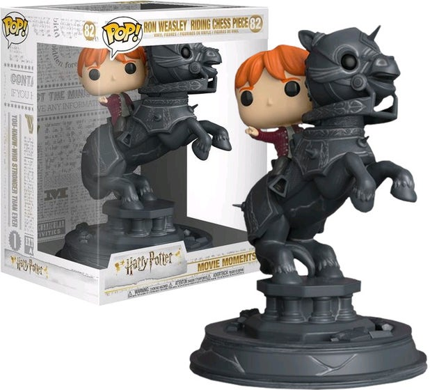 Ron Riding Chess Piece POP! Movie Moment