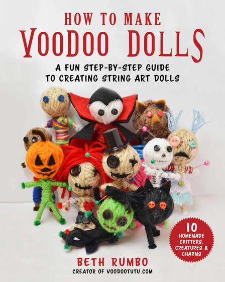 How to Make Voodoo Dolls: A Fun Step-by-Step Guide to Creating String Art Dolls