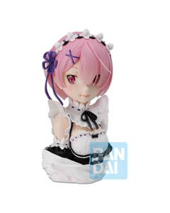 Ram Rejoice That There are Lady on Each Arm Ichibansho PVC Staute 21 cm