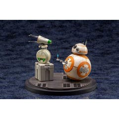 D-O and BB-8 ARTFX+ Statue 2-Pack