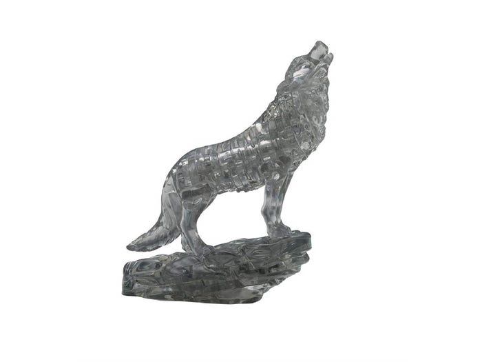 Wolf Black 3D Crystal Puzzle