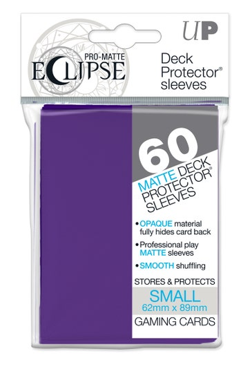 Eclipse Matte Small Sleeves Royal Purple (60)