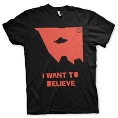 I Wan't to Believe T-Shirt (L)