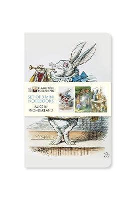 Alice in Wonderland Mini Notebook Collection