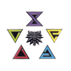 Witcher Enamel Pin Set (6)