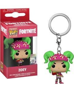 Zoey Pocket POP! Keychain