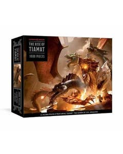 The Rise of Tiamat Dragon Puzzle: 1000-Piece Jigsaw Puzzle Featuring the Queen of Evil Dragons: Jigsaw Puzzles for Adults