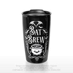 Bat Brew Double Walled Travel Mug 360 ml