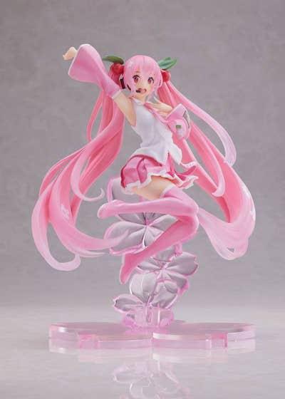 Sakura Miku Jump Ver. A PVC Statue 20 cm (PRODUCTION ERROR)