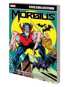 Morbius Epic Collection End Living Vampire