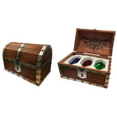 Paperweight Rupee Chest