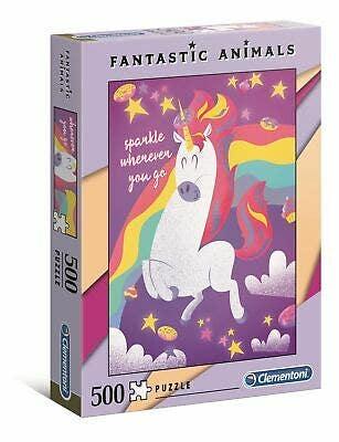 Fantastic Animals Unicorn Puzzle (500)