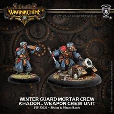 Winter Guard Mortar Crew - Weapon Crew unit