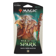 War of the Spark White Theme Booster