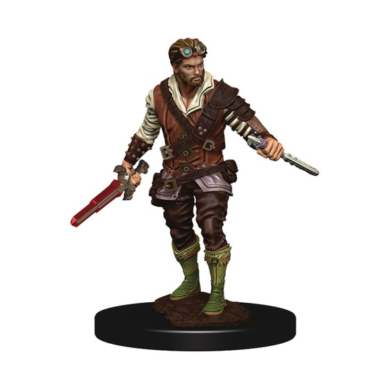 D&d Icons Realm Premium Painted Fig Human Rogue Male