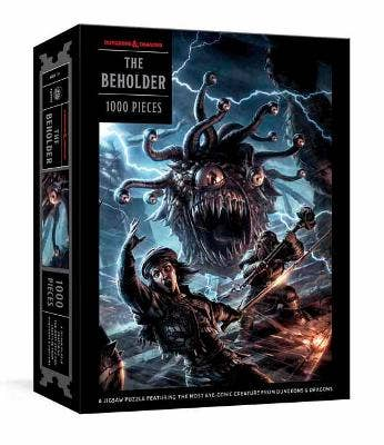 The Beholder Puzzle: A Dungeon & Dragons Jigsaw Puzzle: Jigsaw Puzzles for Adults