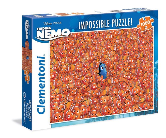 Finding Dory Impossible Puzzle (1000)