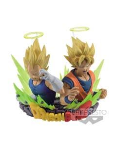 Dbz Com Figuration Vol2 Gogeta Goku & Vegeta Fig