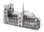 Notre Dame 3D Metal Model Kit