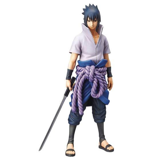 Naruto Shippuden Grandista Nero Sasuke Uchiha Fig