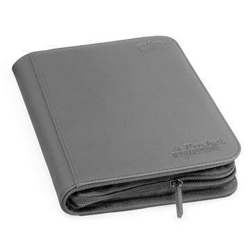 XenoSkin Gray 4-Pocket Zipfolio