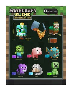 Minecraft Mini Figures with Slime