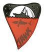 Jaws Limited Edition Pin Badge
