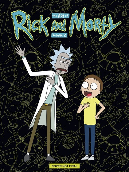 Art of Rick & Morty Deluxe Edition Vol. 02