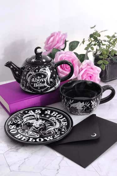 As Above Teapot & Cup