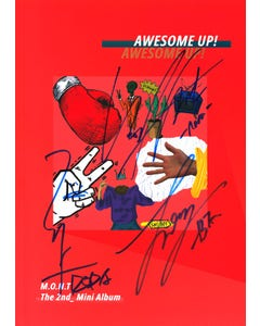 Awesome Up! SIGNED BY ALL MEMBERS Album