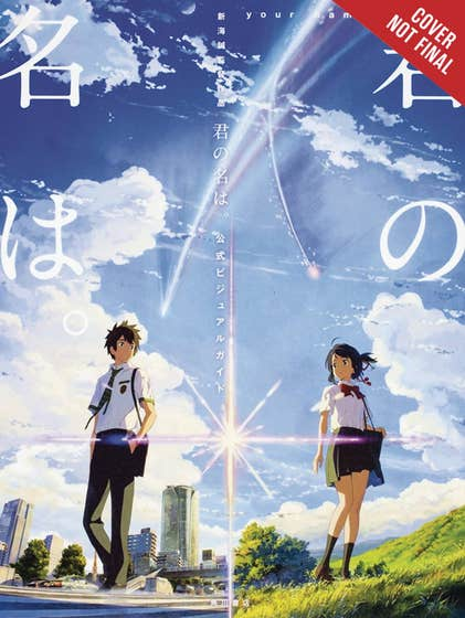 your name. The Official Visual Guide