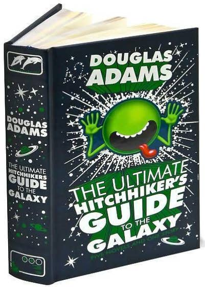 Ultimate Hitchhiker's Guide to the Galaxy: Leatherbound HC