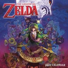Legend of Zelda 2022 Wall Calendar
