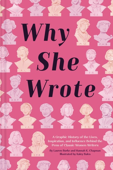 Why She Wrote Graphic History of Classic Women Writers
