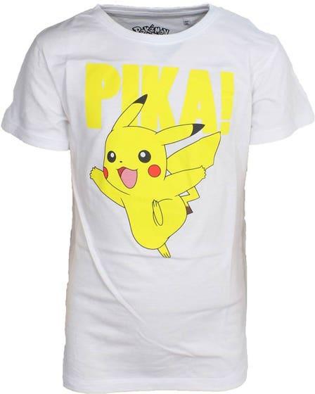 Pikachu Kid's White T-Shirt (122/128)
