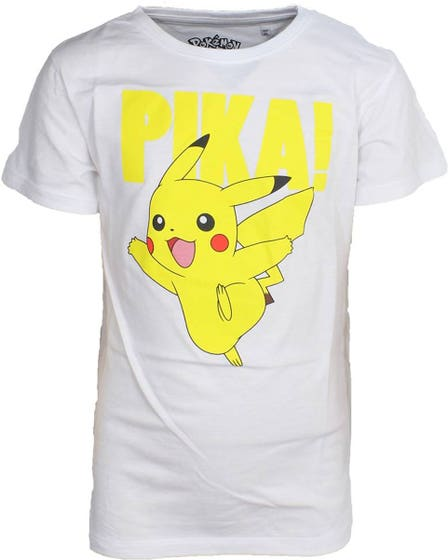 Pikachu Kid's White T-Shirt (158/164)