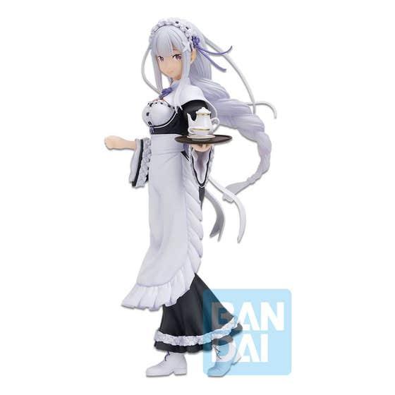 Emilia Rejoice that there are Lady on Each Army Ichibansho PVC Statue 19 cm