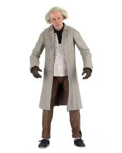 Back To the Future Doc Brown Ultimate 7in Af
