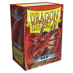 Red Dragon Shield Standard Size Deck Protector Sleeves (100)