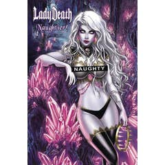 Lady Death Naughtier Limited Edition Artbook HC Cover A