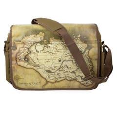 Map Messenger Bag
