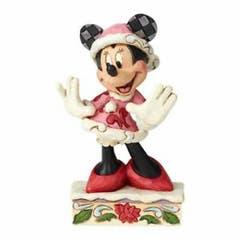 Festive Fashionista Minnie Figurine 12 cm
