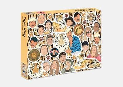 The Tiger King Puzzle: 500 piece jigsaw puzzle