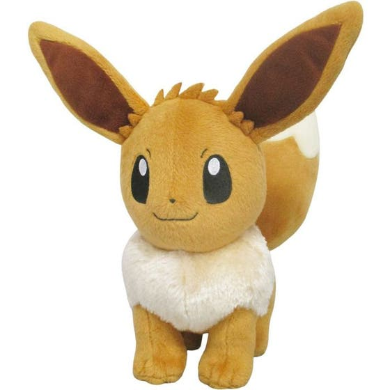 Female Eevee All Star Collection Plush Figure 22 cm