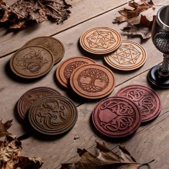 Fantasy bordbrikker