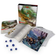 Dungeons & Dragons Starter Set (Six Dice, Five Ready-to-Play D&D Characters With Character Sheets, a Rulebook, and One Adventure): Fantasy Roleplaying Game Starter Set