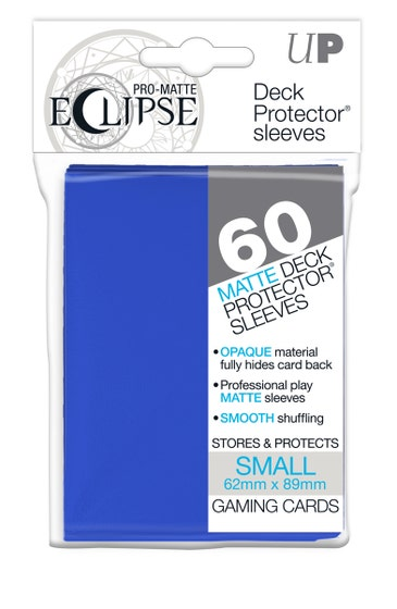 Eclipse Matte Small Sleeves Pacific Blue (60)