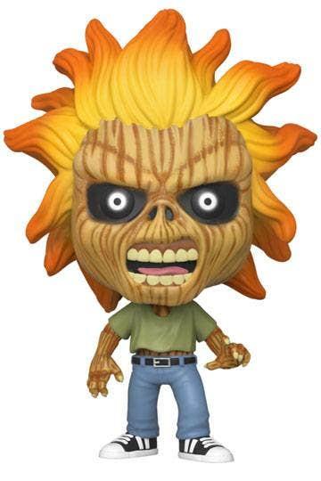 Pop Rocks Iron Maiden Skeleton Eddie Vin Fig