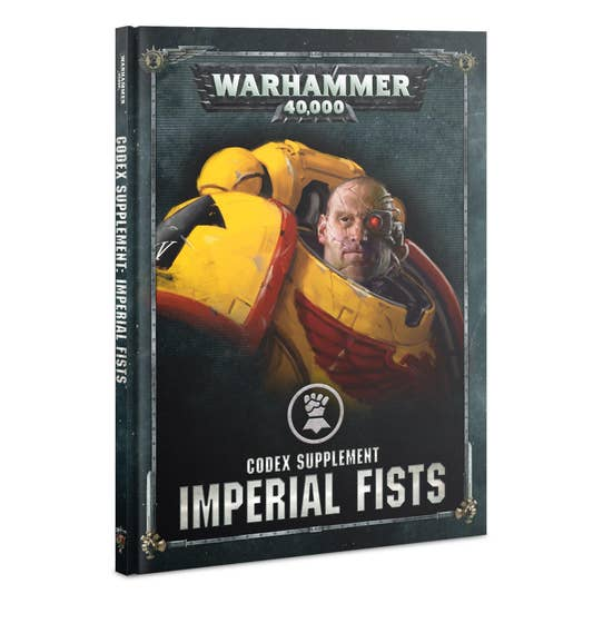 Codex Supplement Imperial Fists HC