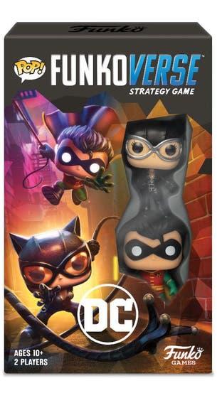 Pop Funkoverse Strategy Game DC Comics 101 Expandalone